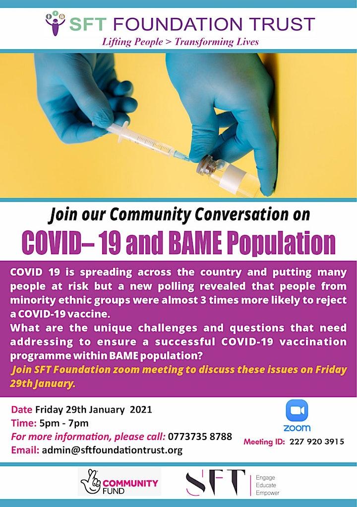Community Conversation- COVID-19 image