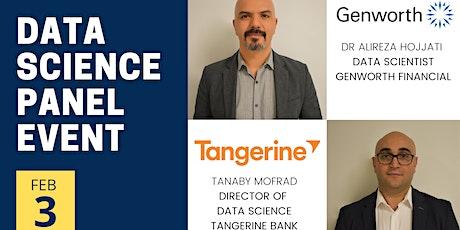 Tangerine Bank & Genworth Financial Professional Data Science Panel Event tickets