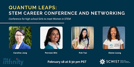 SCWIST Quantum Leaps STEM Career Conference for High School Girls tickets