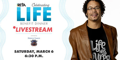 RETA's 2021 Celebrating Life Benefit Dinner Livestream Tickets