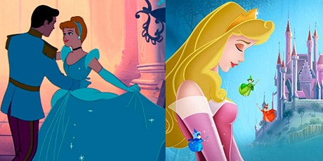 CINDERELLA & SLEEPING BEAUTY Two Feature Parking Lot Cinema tickets