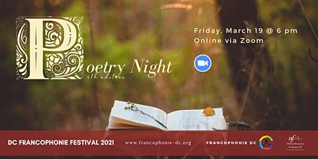 Poetry Night, 4th edition tickets