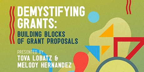 Grant Workshops for Artists: Building Blocks of Grant Proposals tickets