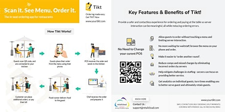 Tikt - QR Based Contactless Ordering for Restaurants tickets