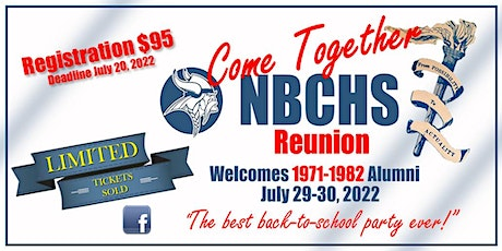 NBCHS Come Together Reunion 2022 tickets
