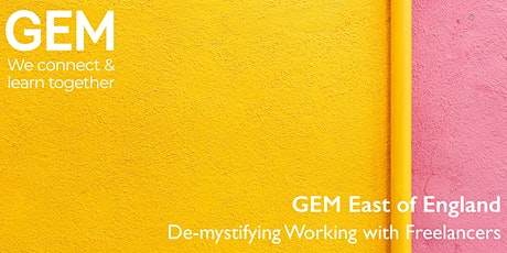 GEM East: Demystifying Working with Freelancers tickets