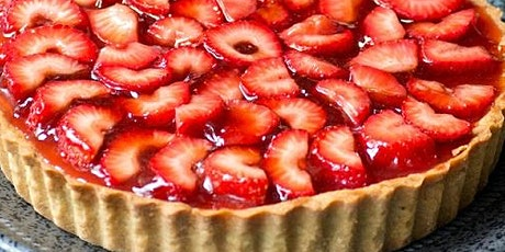 UBS - Virtual Cooking Class: Strawberry Rhubarb Tart Demo tickets