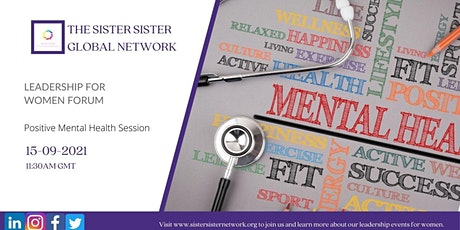 Leadership for Women Forum - Positive Mental Health tickets