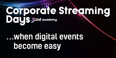 Corporate Streaming Days Tickets
