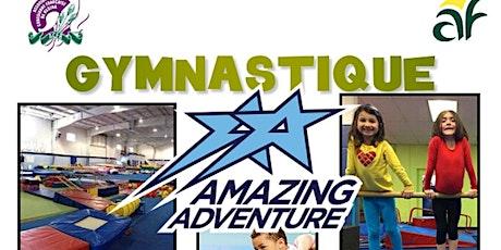 Cours de gymnastique pour enfants en français à Amazing Adventure tickets