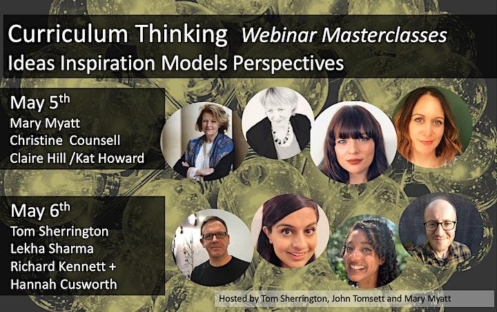 Curriculum Thinking: Six  Masterclasses image