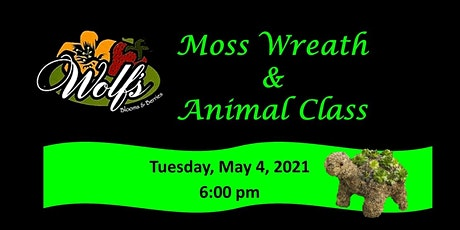 Moss Wreath & Animal Class tickets