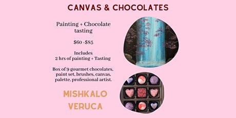 CANVAS & CHOCOLATES tickets
