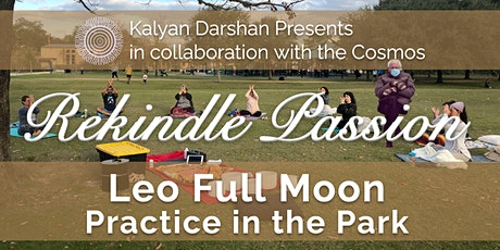 Leo Full Moon Practice in the Park tickets