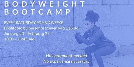 Saturday Morning Bodyweight Bootcamp Fitness Class - Livestream & Recorded! tickets