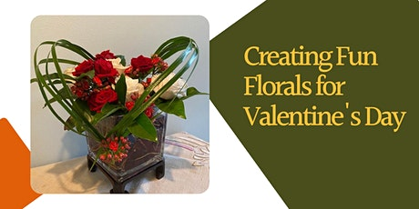 Creating Fun Florals for Valentine's Day (Webinar) tickets