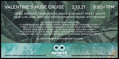 Valentine's Muse Cruise aboard Tikki Beach tickets
