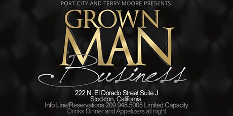 Grown Man Business Poetry Featuring Terry Moore tickets
