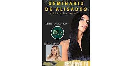 Seminario de Alisados , keratin class tickets