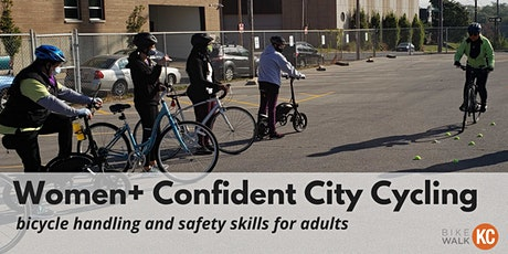Women+ Confident City Cycling tickets