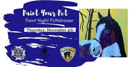 Paint Your Pet for Friends of Madison Mounted Horse Patrol tickets