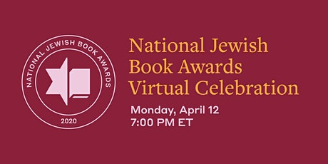 70th National Jewish Book Awards Celebration billets