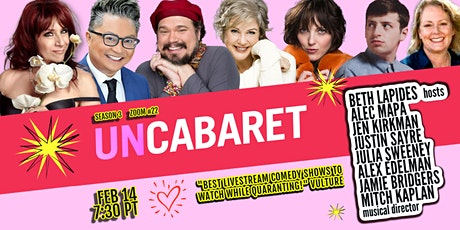 UnCabaret Zoom Edition #22 tickets