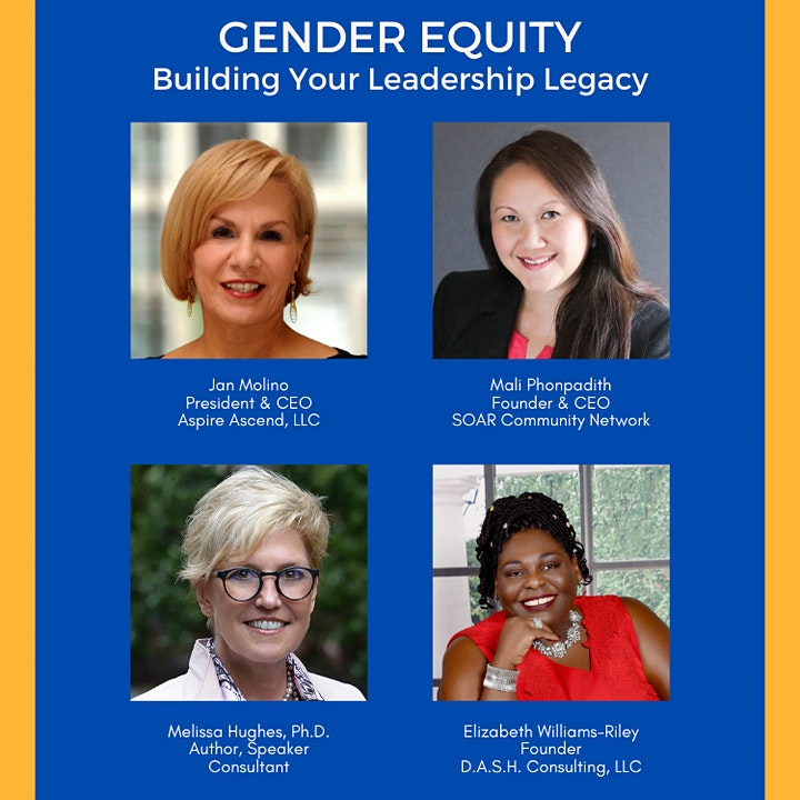 Gender Equity Master Class: Building Your Leadership Legacy image