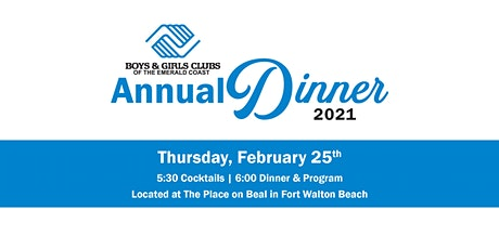 Boys & Girls Clubs of the Emerald Coast Annual Dinner tickets