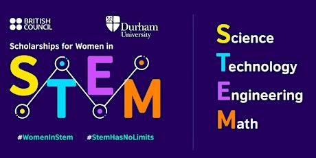 Becas del British Council y Durham para mujeres en ciencias e ingeniería entradas
