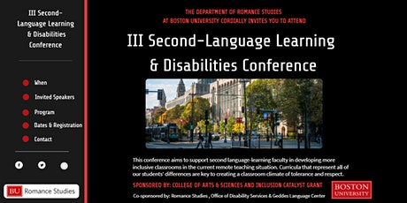 III Second-Language Learning & Disabilities Conference tickets