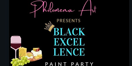 Black Excellence Paint Party tickets
