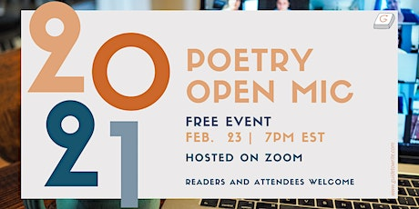 Share in the Joy: Poetry Open Mic Night [Free] tickets