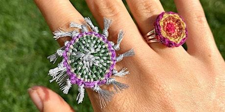 Digital Workshop: SAORI Woven Jewelry with FABSCRAP + Brandy Godsil tickets