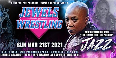 Jewels of Wrestling 3 - Women's Pro Wrestling event! tickets