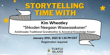Storytelling Time with Kim Wheatley tickets