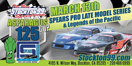 Asparagus Cup 125 - SPEARS Pro Late Models & Legend of the Pacific tickets