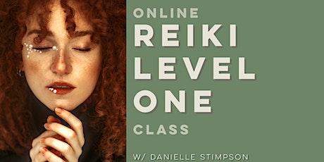Online Reiki Level 1 Class - A Four Part Series tickets