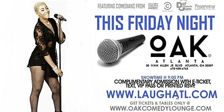 Stand Up Comedy @ Oak tickets