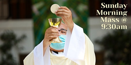 OUTDOOR Mass on Sunday at 9:30 am tickets