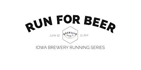 Beer Run - Gezellig Brewing | 2021 Iowa Brewery Running Series tickets