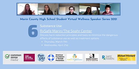 Youth Opioid Team RxSafe Marin: Substance Use tickets
