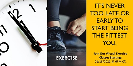VIRTUAL RELAX AND REVIVE EXERCISE tickets