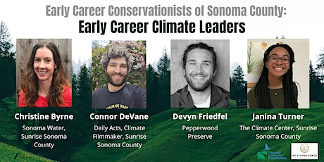 Early Career Climate Leaders: A Virtual Panel Discussion tickets