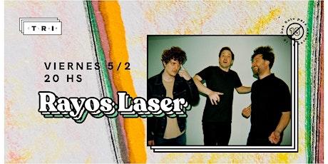 Rayos Laser ⚡️ en Club TRI entradas