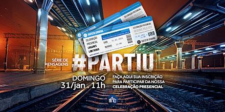Celebração | DOMINGO |  31 de Janeiro | 11h ingressos
