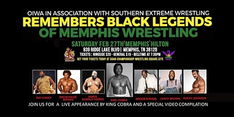 Remembering African American Legends of Memphis Wrestling tickets