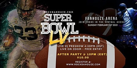 SUPERBOWL LV - ZOOM *FREE* PRE-GAME PARTY! tickets