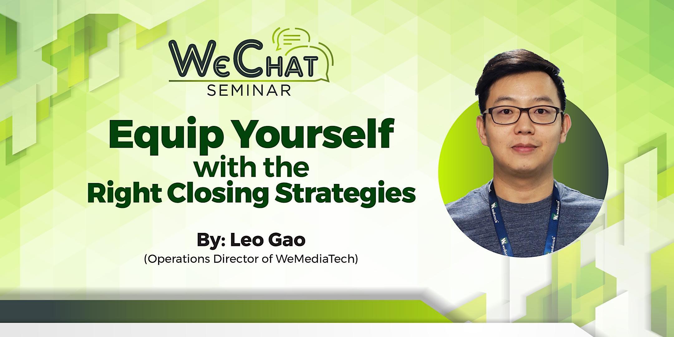 WeChat Seminar