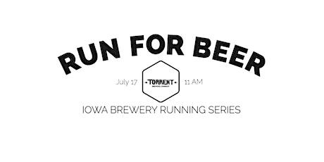 Beer Run - Torrent Brewing | 2021 Iowa Brewery Running Series tickets